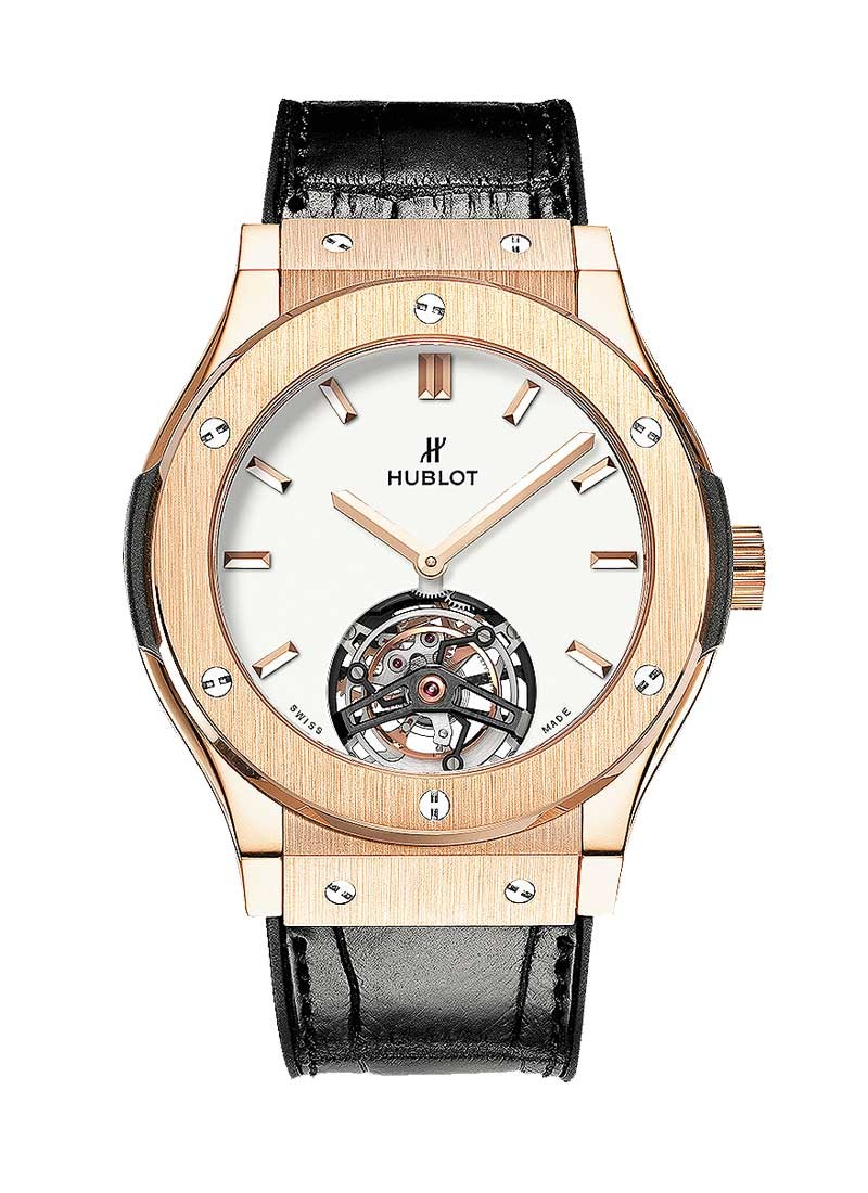 Hublot Classic Fusion 45mmTourbillon King Automatic  Rose Gold