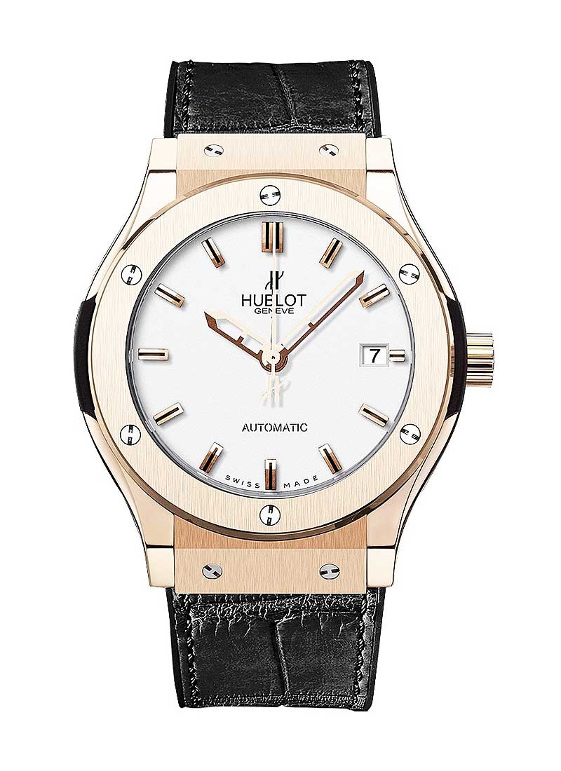 Hublot Classic Fusion 38mm  Automatic in Rose Gold