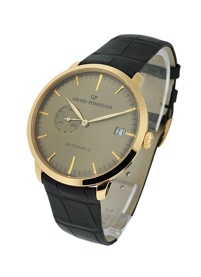 Girard Perregaux 1966 Small Seconds and Date Automatic in Rose Gold