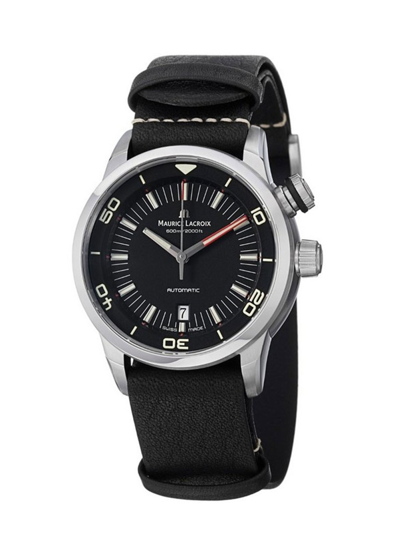 Maurice Lacroix Pontos S Diver mens Automatic in Steel