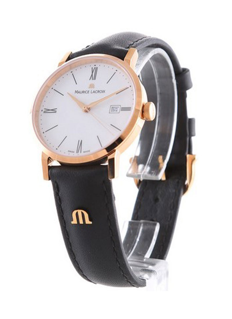 Maurice Lacroix Eliros Date Ladies 30mm Swiss Quartz in Rose Gold