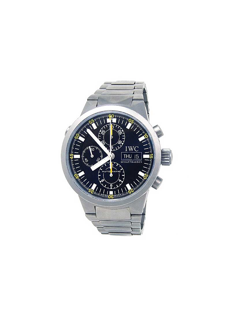 IWC GST Split Second Chronograph 43mm Automatic in Titanium