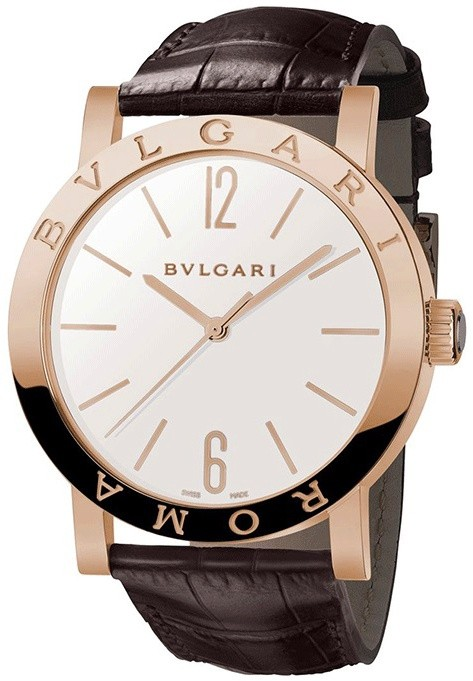 Bvlgari Bvlgari ROMA 39mm  in Rose Gold