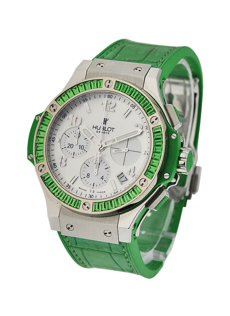 Hublot Big Bang 41mm Tutti Frutti Chronograph Green Apple