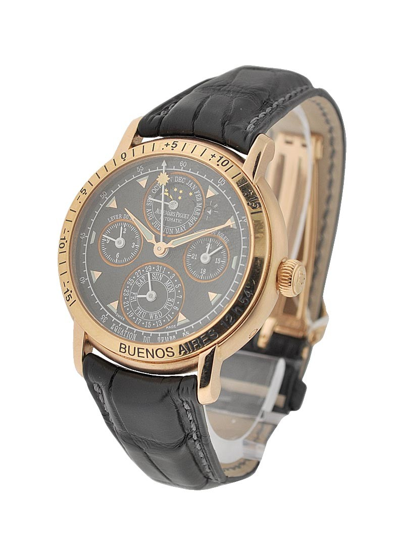 Audemars Piguet Jules Audemars Equation of Time - Buenos Aires Edition in Rose Gold