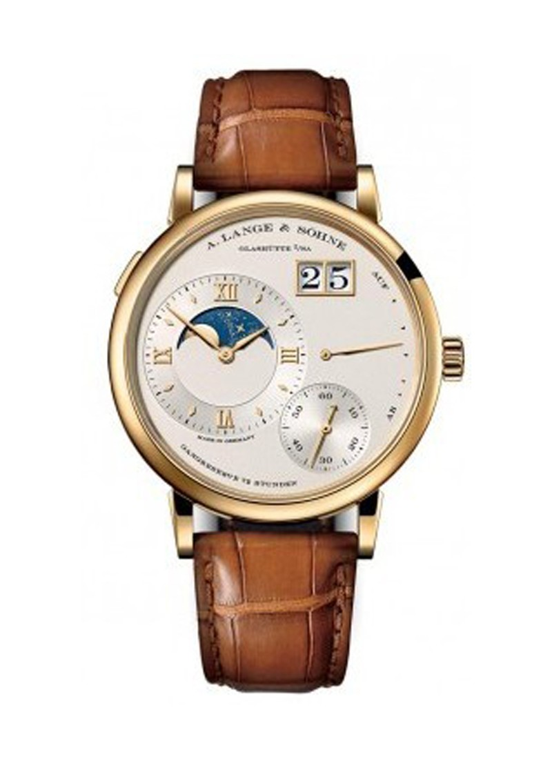 A. Lange & Sohne Grande Lange 1 Moon Phase in Yellow Gold