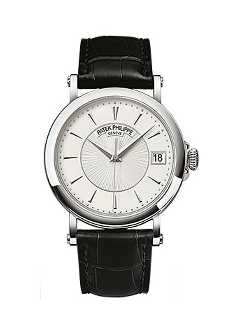 Patek Philippe Mens Calatrava 5153G in White Gold