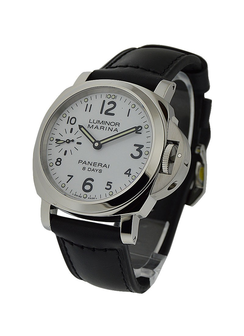 Panerai PAM 563   Luminor Marina 8 Days Acciaio in Steel