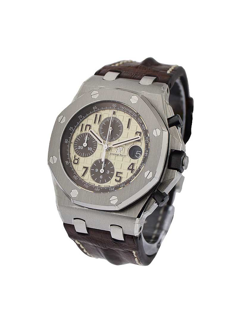 Royal Oak Offshore Chronograph Safari In Steel