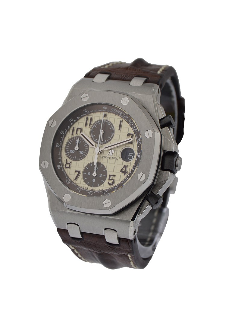 Audemars Piguet Royal Oak Offshore Chronograph Safari in Steel