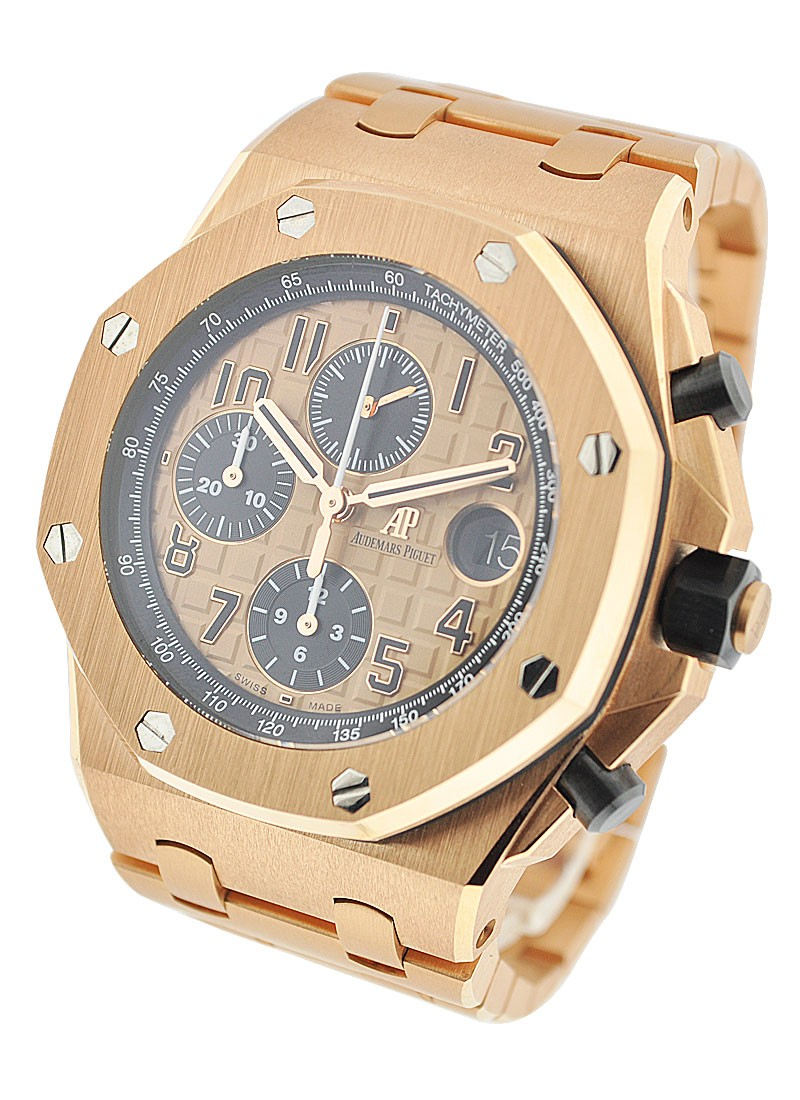 Audemars Piguet Royal Oak Offshore Chronograph in Rose Gold