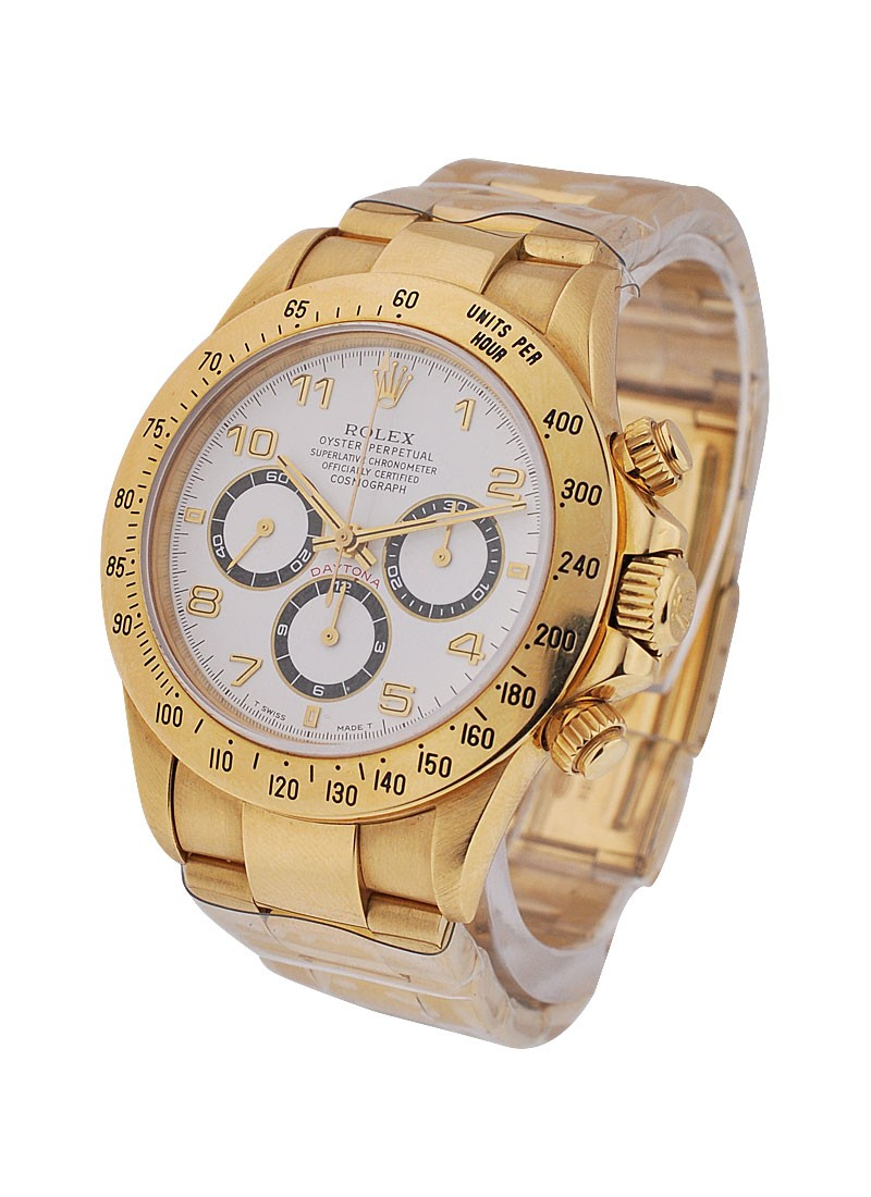 Rolex Used Yellow Gold Daytona on Bracelet