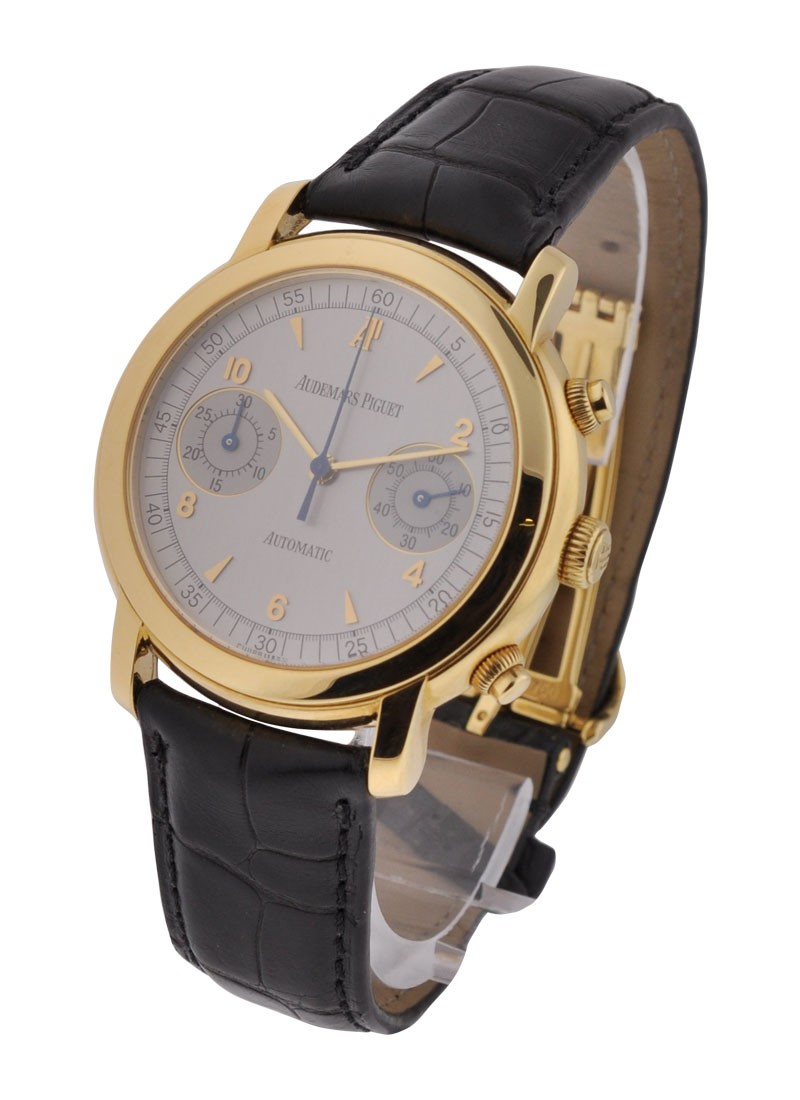 Audemars Piguet Jules Audemars Chronograph in Yellow Gold