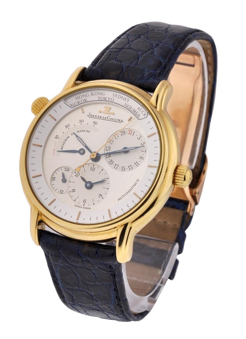 Jaeger - LeCoultre Master Geographic 38mm in Yellow Gold