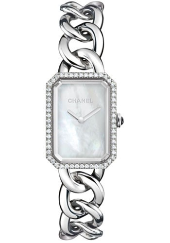 Chanel Premiere Ladies Quartz in Steel with Diamond Bezel