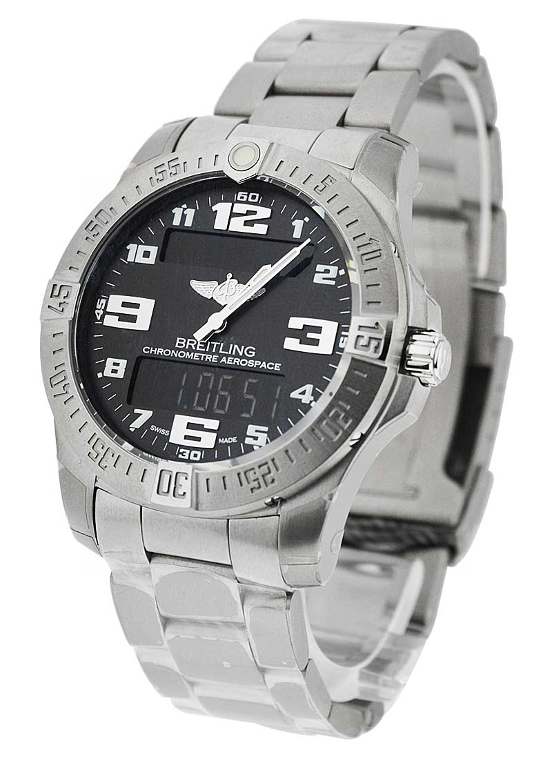 Breitling Professional Aerospace Evo in Titanium