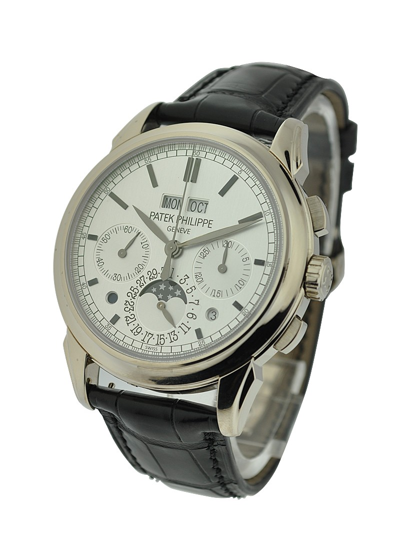 Patek Philippe Perpetual Calendar Chronograph 5270G001 in White Gold
