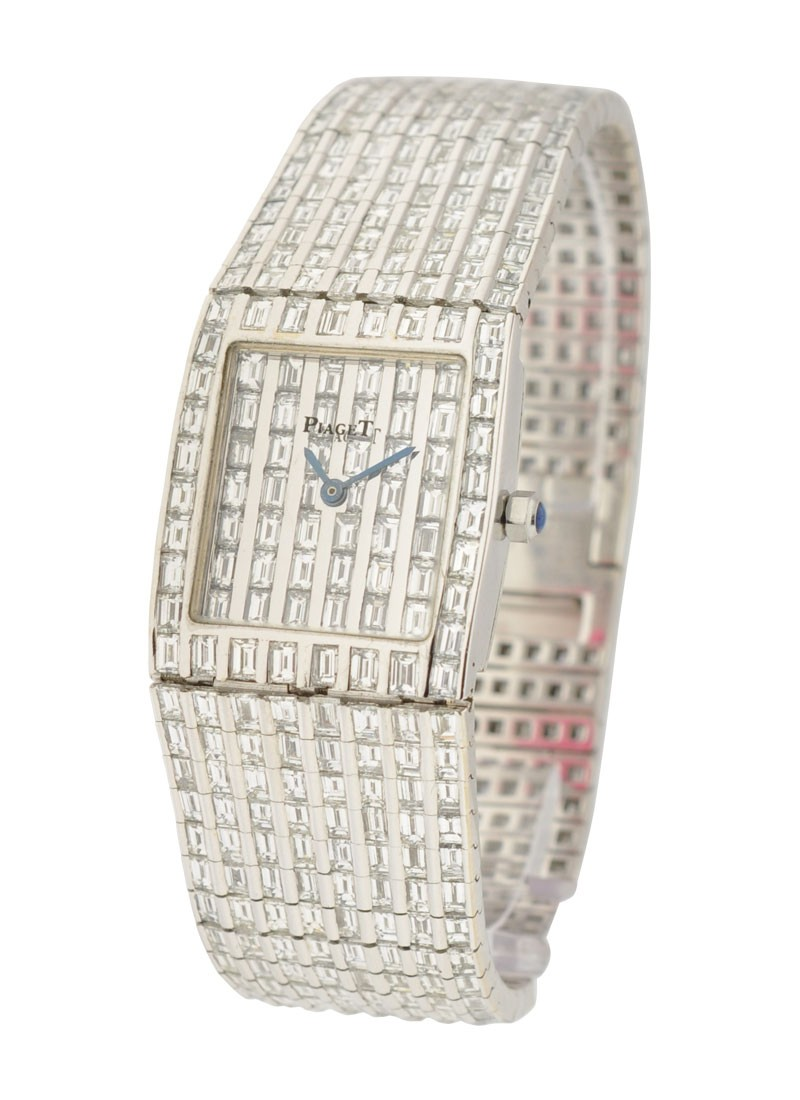 Piaget Full Pave Baguette Diamond Tradition