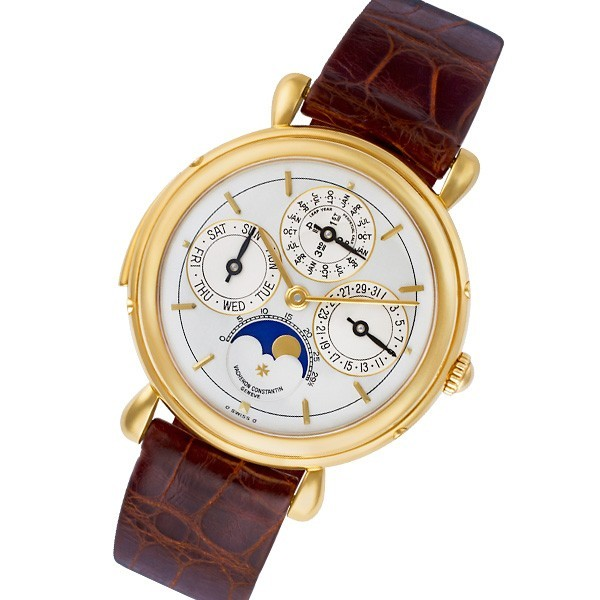 Vacheron Constantin Patrimony Minute Repeater Perpetual Calendar on Yellow Gold