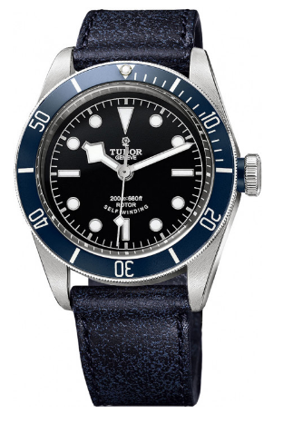 Tudor Heritage Black Bay Automatic in Steel with Blue Bezel