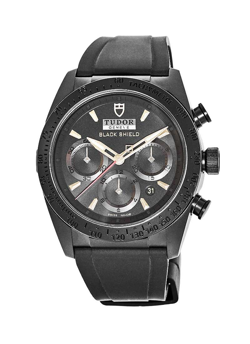 Tudor Fastrider Black Shield 42mm Automatic in Black Ceramic
