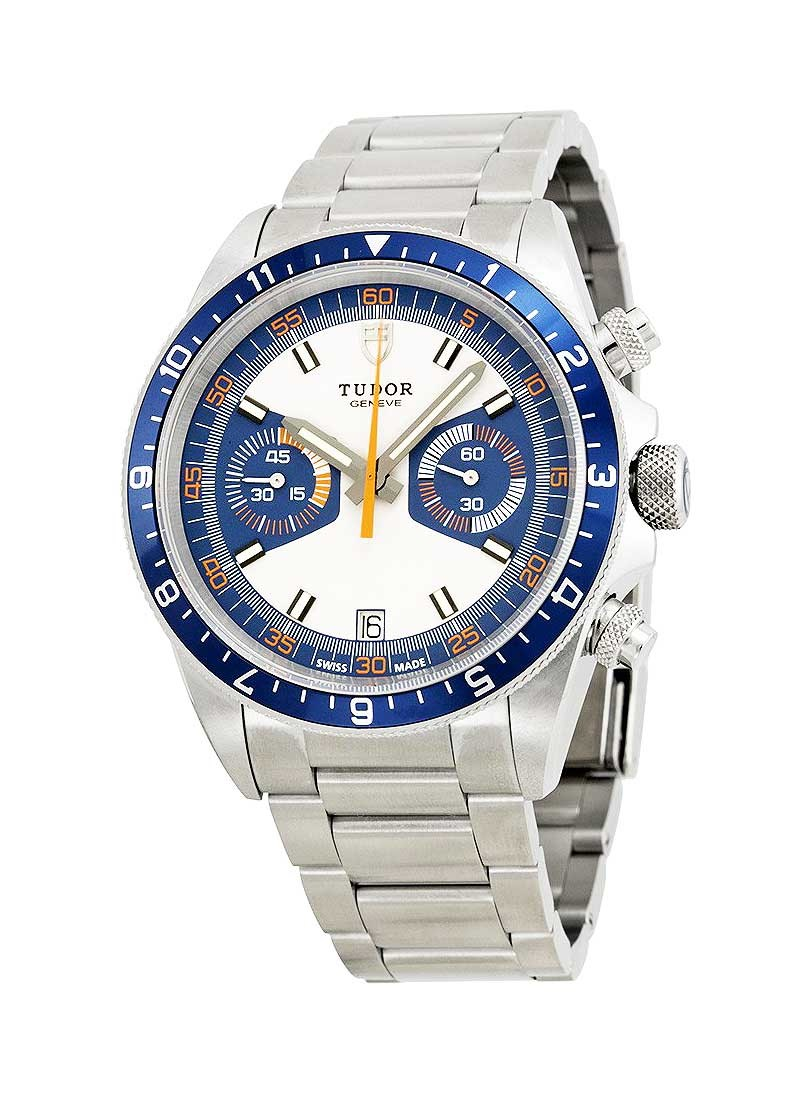 Tudor Heritage Chrono Mens 42mm Automatic in Steel