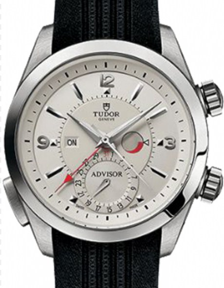 Tudor Heritage Advisor Mens 42mm Automatic in Steel