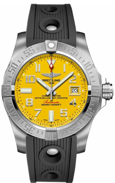 Breitling Avenger II Seawolf Men's Automatic Chronograph in Steel