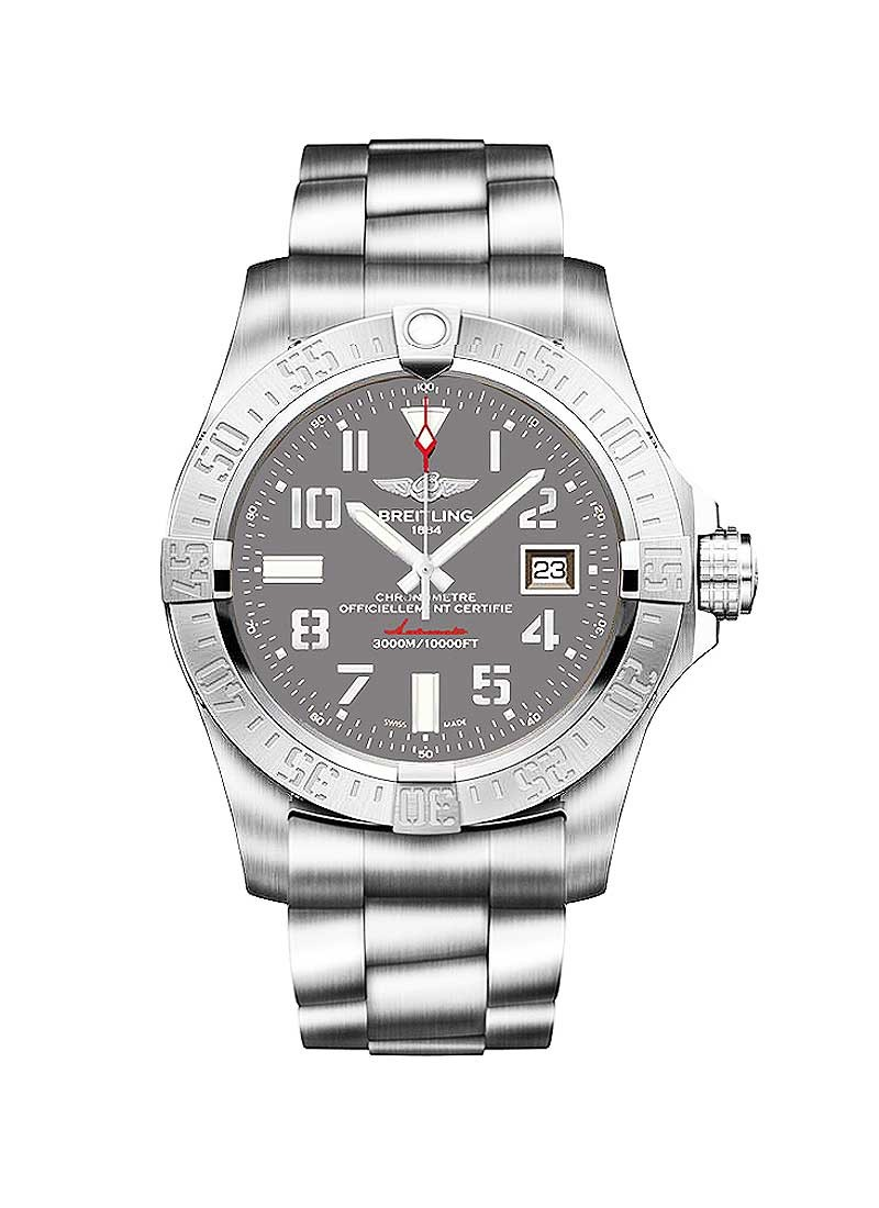 Breitling Avenger Seawolf Men''s Automatic in Steel
