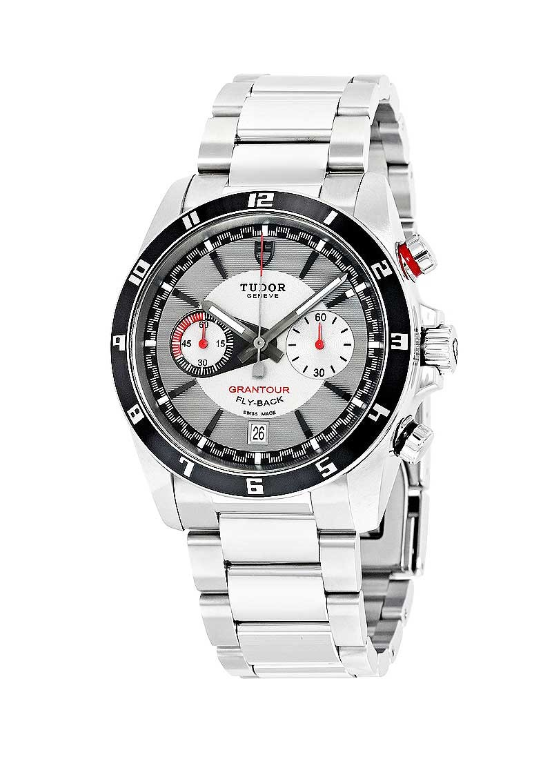 Tudor Grantour Chrono Flyback mens 42mm Automatic in Steel