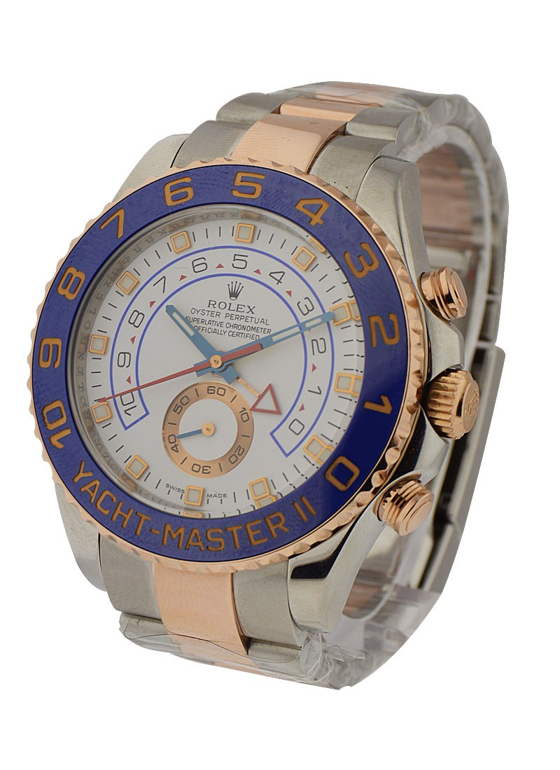 Rolex Used Yacht Master 44mm Automatic in Steel and Rose Gold