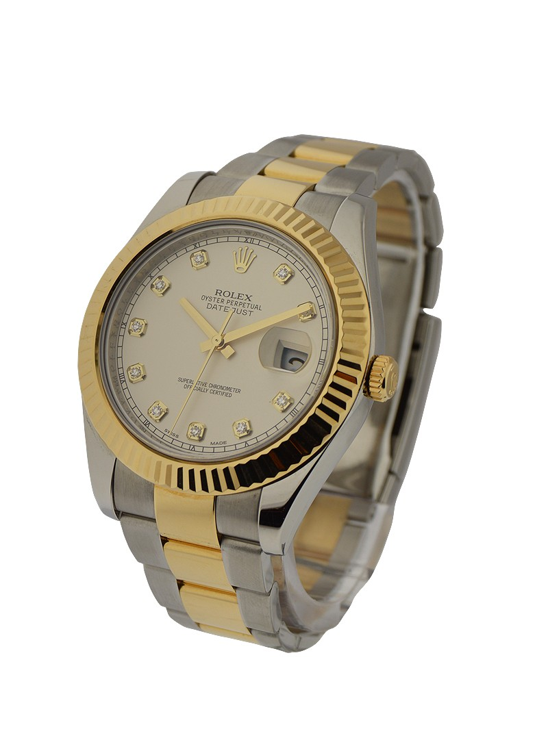 Rolex Used Datejust II - 41mm - Fluted Bezel