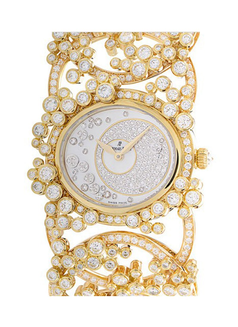 Audemars Piguet Contemporary Millenary Precieuse in Yellow Gold with Diamonds