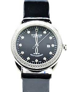 55020-Black patent leather strap