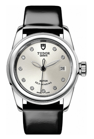 Tudor Glamour Date Ladies Automatic in Steel