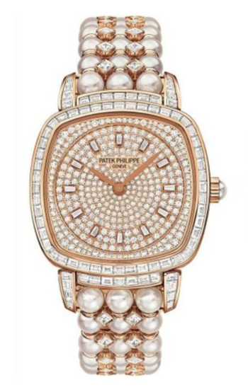 Patek Philippe Lady's Gondolo in Rose Gold with Baguette Diamonds