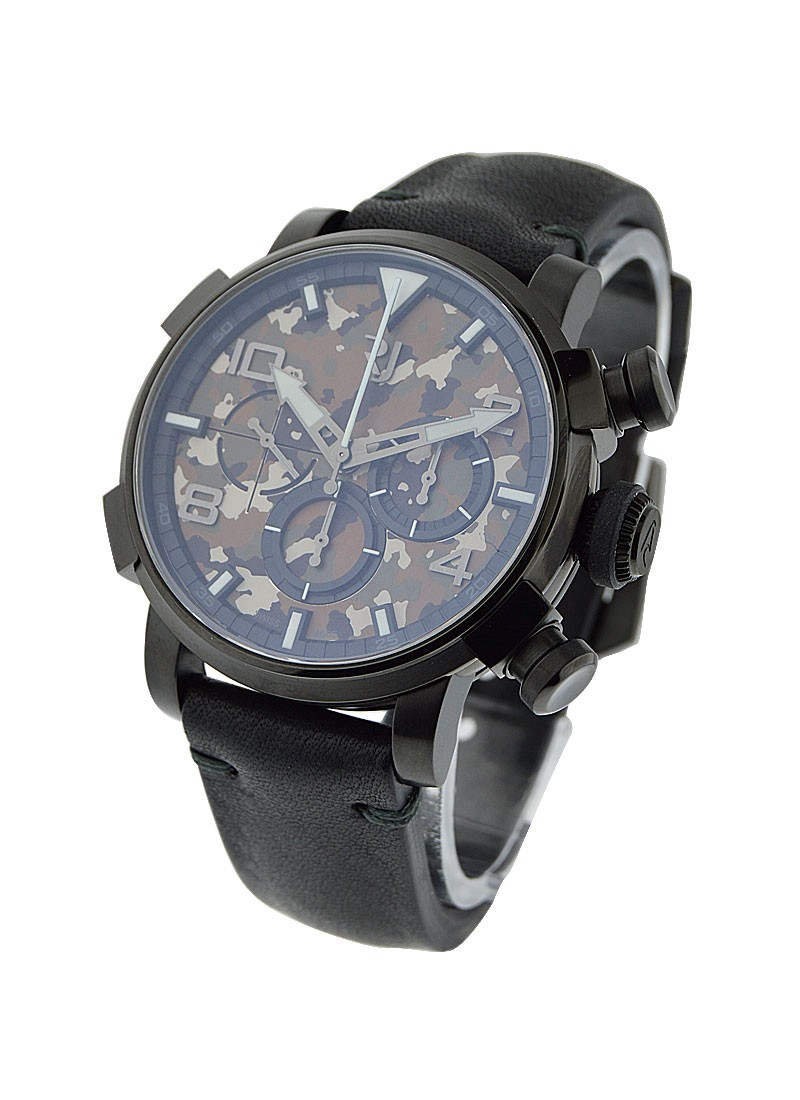 Romain Jerome Pinup DNA Black in Black PVD Steel