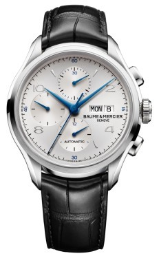 Baume & Mercier Clifton Chronograph 43mm in Steel