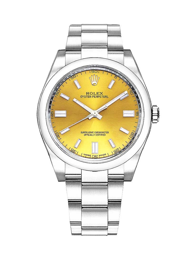 Rolex Unworn Oyster Perpetual No Date 36mm in Steel with Smooth Bezel
