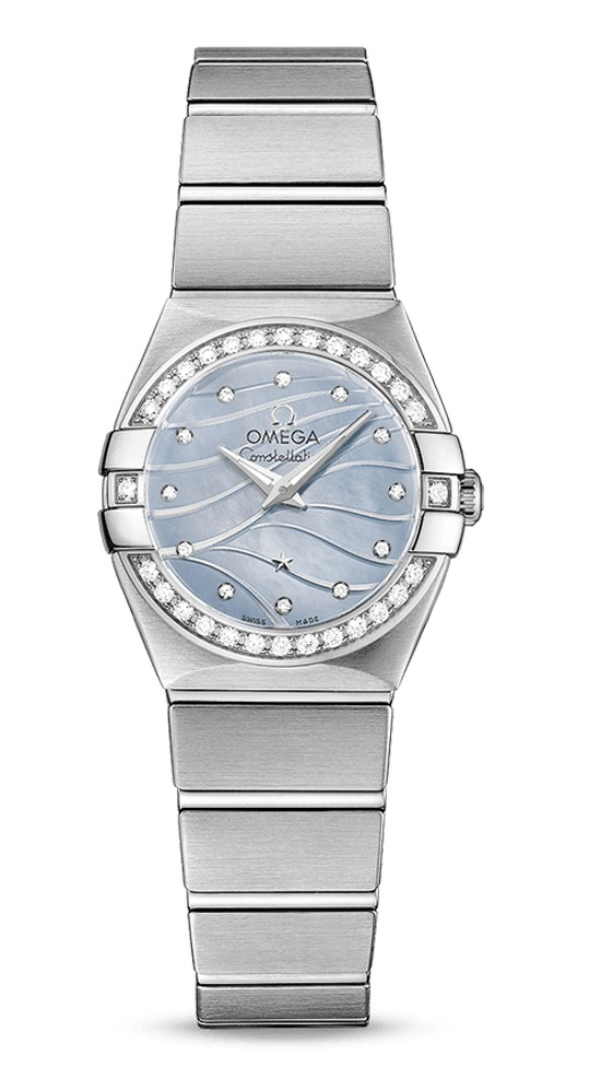 Omega Constellation Ladies Mini 24mm Automatic in Steel