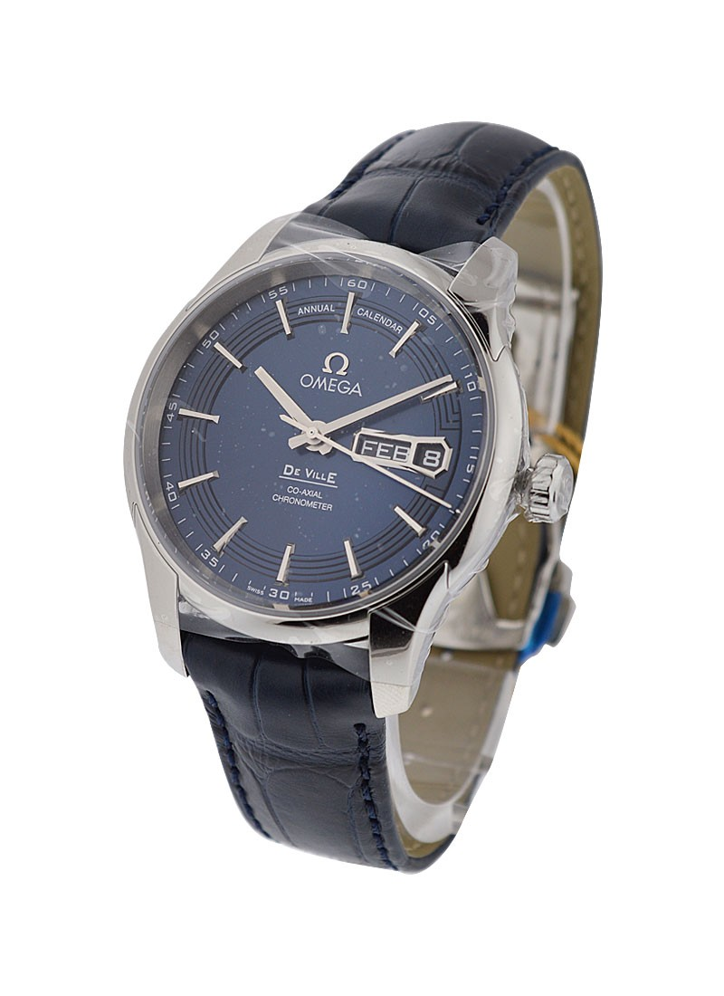 Omega De Ville Hour Vision Annual Calendar Automatic in Steel