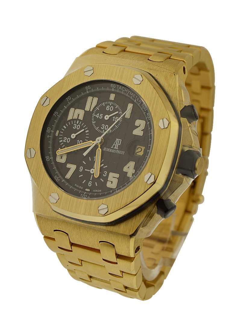 Audemars Piguet Offshore Yellow Gold on Bracelet
