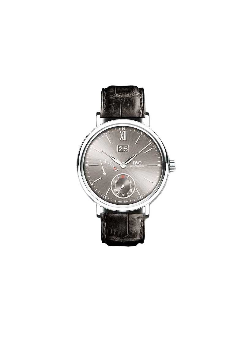 IWC Portofino Mens 45mm Mechanical in White Gold