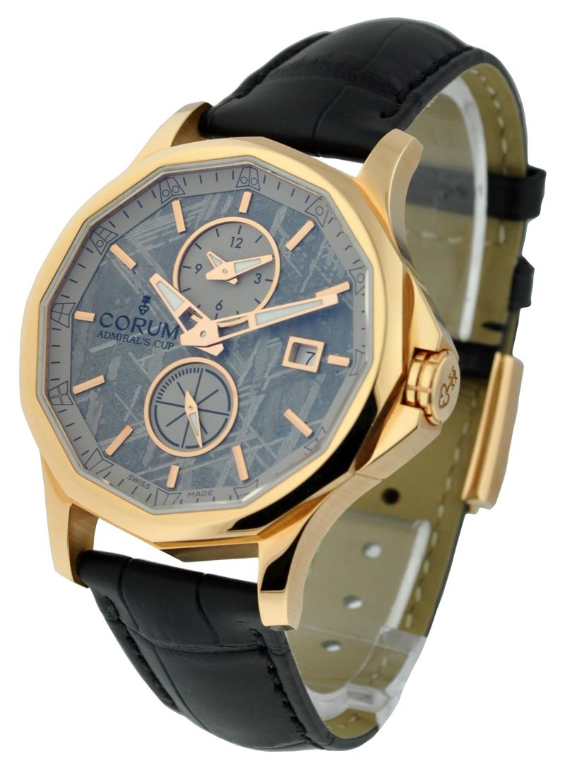 Corum Admirals Cup Legend 42 Dual Time in Rose Gold