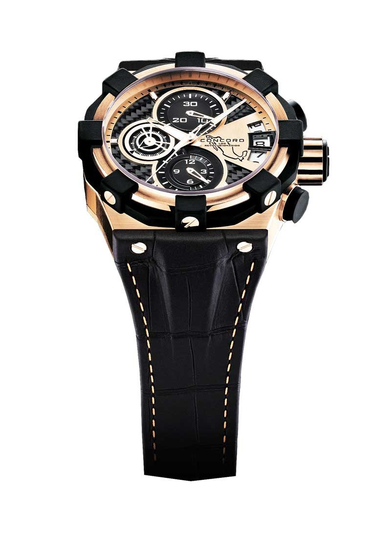 Concord C1 Chrono in Rose Gold - Pancho Villa Limited Edition