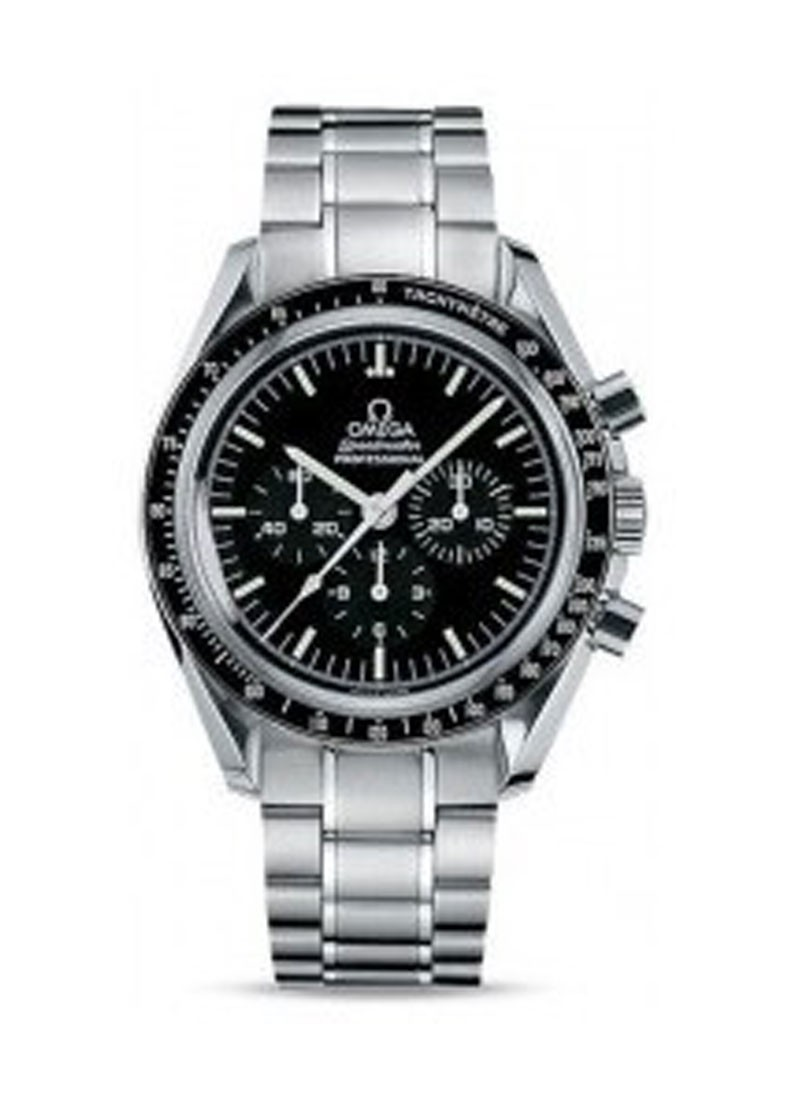 Omega Speedmaster Mens 42mm Manual Chronograph in Steel
