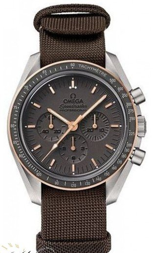 Omega Speedmaster Professional  Apollo 11 45TH Anniversary in Titanium and Rose Gold