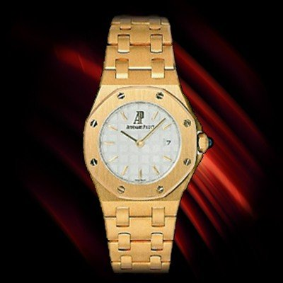 Audemars Piguet Yellow Gold Lady's Offshore