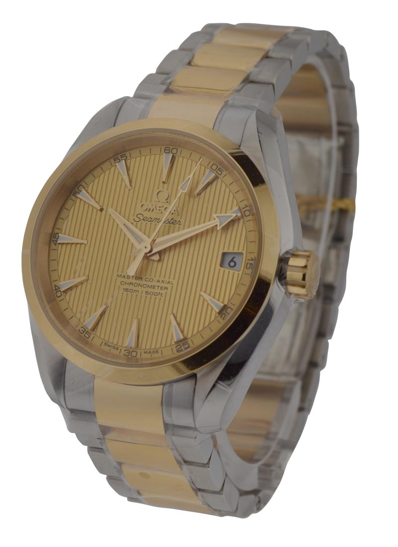 Omega Seamaster Aqua Terra 150M Omega Master in Steel and Yellow Gold