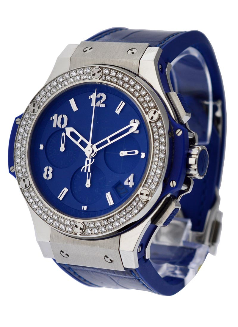 Hublot Big Bang 41mm - Tutti Frutti - Dark Blue Carat